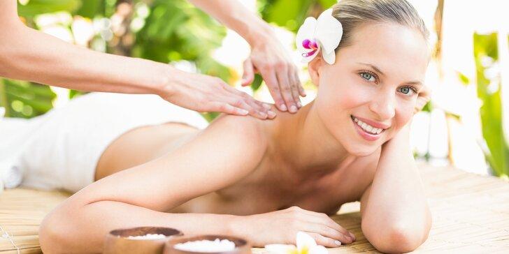 Dámy, nakombinujte si svoji masáž: výběr ze 4 variant