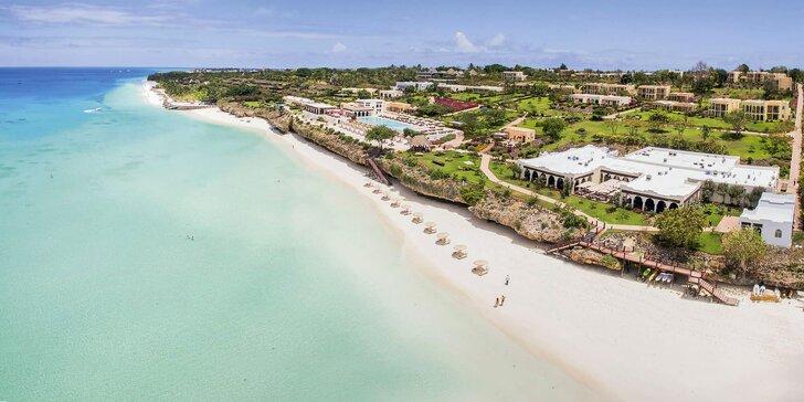 Dovolená na exotickém Zanzibaru: 6–12 nocí v 5* resortu, all inclusive a bazén