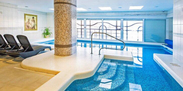 Aktivně-relaxační pobyt v Krušných horách: polopenze a neomezený bazén