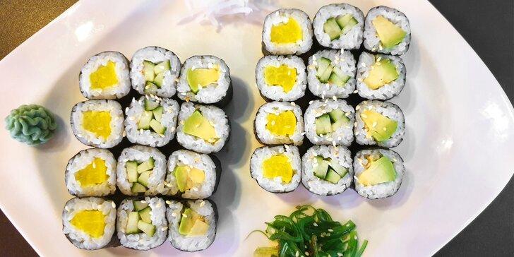 Sushi sety v asijském bistru v centru Olomouce: 24 nebo 30 ks