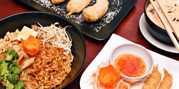 Přehlídka exotiky ve 4 chodech: Asijské menu samostatně i pro dva