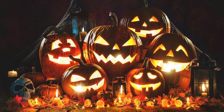 Halloweenský pobyt v Šiklově mlýně s polopenzí, vířivkou a programem až pro 4 os.