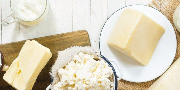 Kurzy výroby domácích sýrů, másla, jogurtu a dalších mléčných produktů
