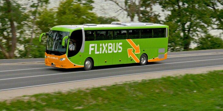 25–40% sleva na FlixBus: linka Praha–Louny–Chomutov–Jirkov–Most