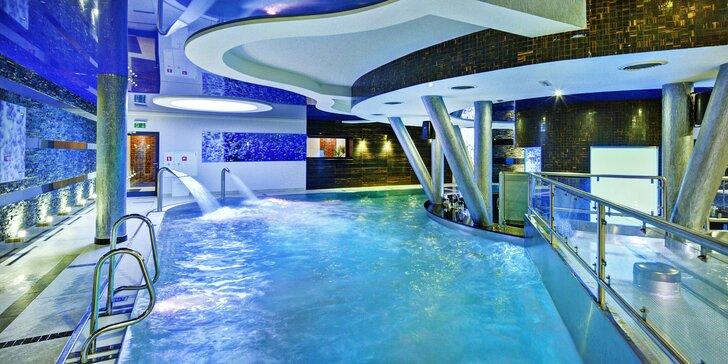 Luxusní relaxace v Polsku: krásný hotel, neomezený wellness a polopenze