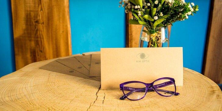 Zrak jako ostříž: otevřené vouchery na brýlové obruby v ceně 1500–5000 Kč