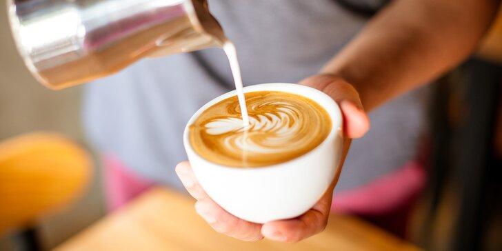 Příprava kávy je umění: naučte se základům během 6hod. baristického kurzu