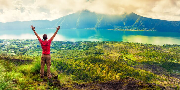 Pánská jízda na Bali: 9 nocí v 3* hotelech se snídaní, koupáním i raftingem