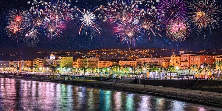 Silvestr ve velkém stylu: zájezd na Francouzskou riviéru, 1 noc v hotelu, český průvodce
