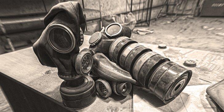 Zachraňte se: úniková hra ve skutečném nacistickém bunkru až pro 6 hráčů
