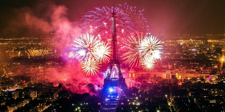 Přivítejte rok 2020 v Paříži: silvestrovské oslavy, slavné památky a 1 noc v hotelu