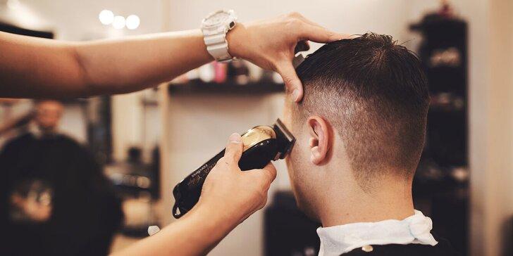 Precizní pánský střih a úprava vousů od profesionálních stylistů