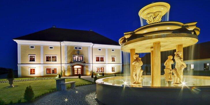 Odpočinek v přírodě Plzeňska pro dva: polopenze, privátní wellness i láhev vína