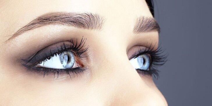 Permanentní make-up: klasické i stínované oční linky a obočí