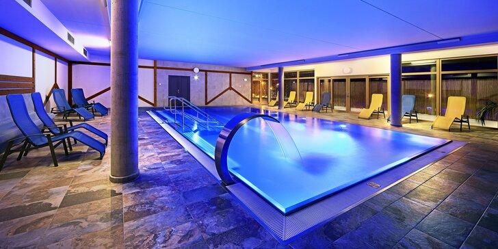 Oddych na Lipně: pobyt ve 4* hotelu s jídlem i vstupy do moderního wellness