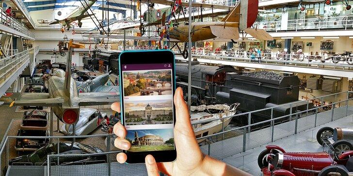 Napínavá mobilní úniková hra mezi exponáty technického muzea až pro 4 osoby