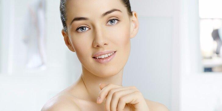 Úprava a barvení obočí či kosmetické balíčky s chemickým peelingem a ošetřením pleti přístrojem Domiderm