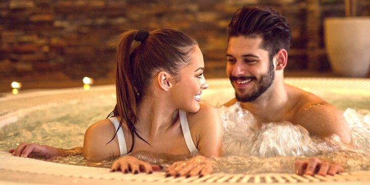 Uvolněte se: Privátní wellness se saunou i vířivkou na 120 minut