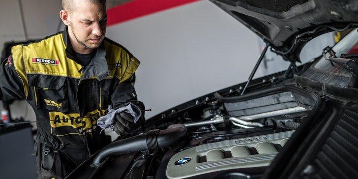 Prohlídka vozidla před zimou s 15% slevou na opravy
