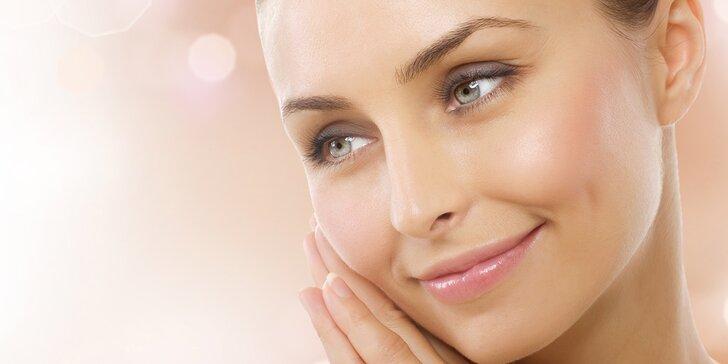 Kompletní kosmetické ošetření pro všechny typy pleti včetně masáže