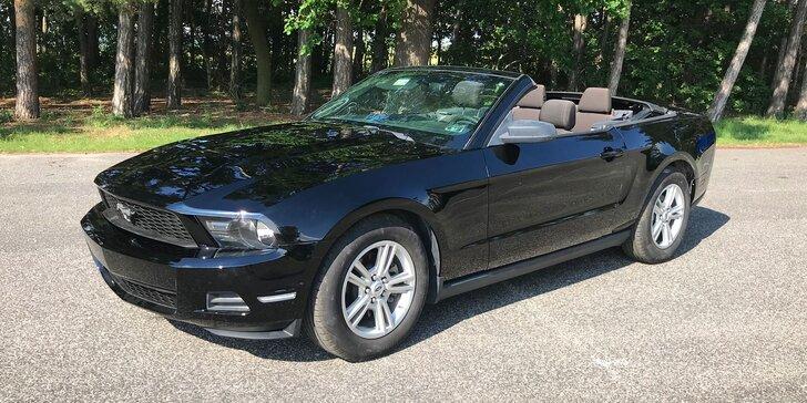 Adrenalin za volantem: půjčte si Ford Mustang kupé nebo kabriolet na den či víkend