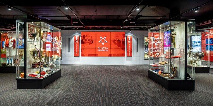 Vstupenky do Slavia Muzea: přehlídka artefaktů našeho i světového fotbalu