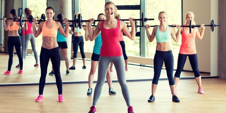 5 skupinových lekcí v dámském fitness - BOSU, TRX, břišní pekáč, Fat Killer a další