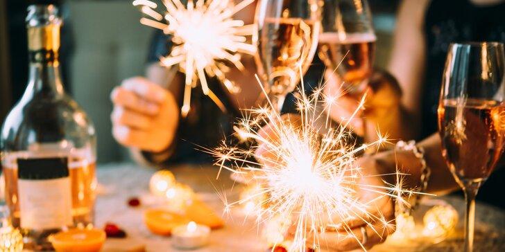 Silvestr na zámku: wellness, program, půlnoční občerstvení i novoroční oběd