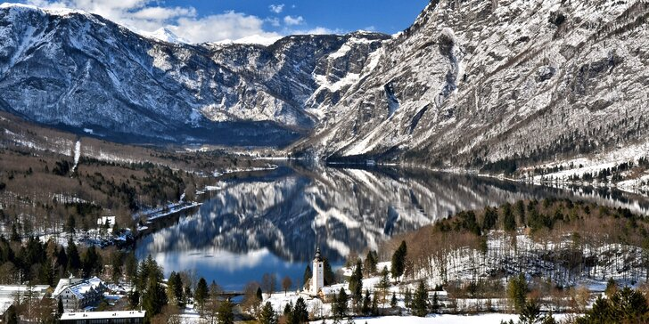 Wellness pobyt u slovinského jezera Bohinj se snídaní nebo polopenzí pro pár