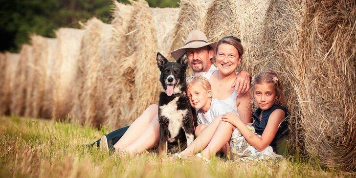 Focení v přírodě: portrét, párové, těhotenské či rodinné focení