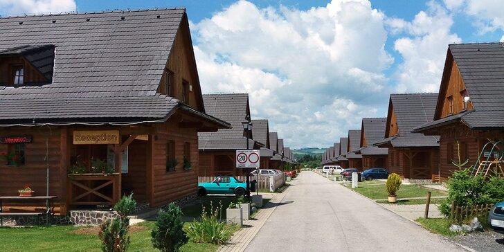 Parádní dovolená na Slovensku: plně vybavená chata u Liptovské Mary až pro 8 osob