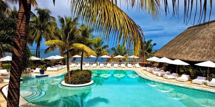 Přepychový 5* resort na Mauriciu: 6–12 nocí, all inclusive, bazén s vířivkou