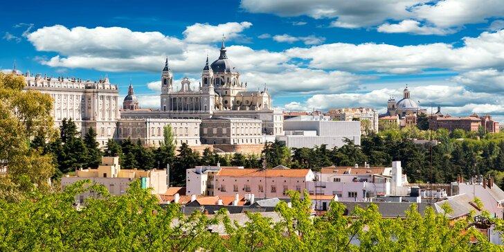 Letecký zájezd do Madridu a Toleda s ubytováním a průvodcem