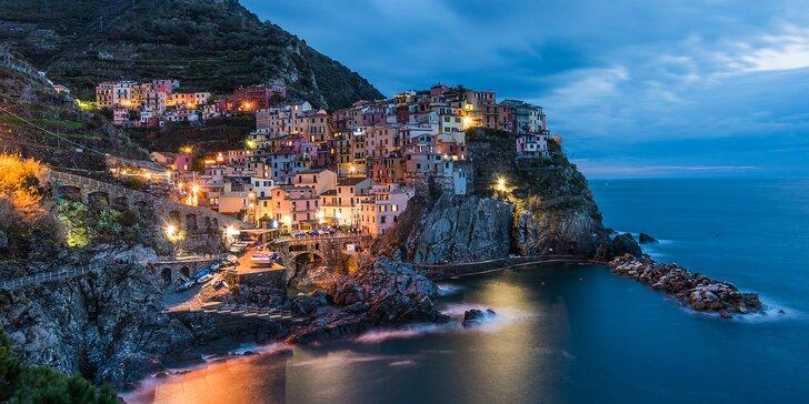 Podzimní toulky Toskánskem: Cinque Terre, Pisa, Lucca a Florencie, 2 noci se snídaní