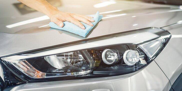 Čistá jízda: servis klimatizace i ruční mytí karoserie a čištění interiéru