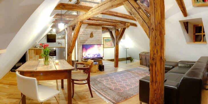 3-8 dní v krásných a stylových apartmánech v historickém Lokti