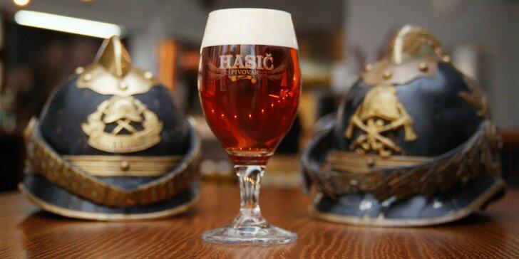 Staňte se na 1 den sládkem a uvařte si své vlastní pivo v pivovaru Hasič