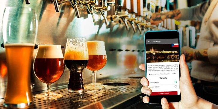 Tour de Pub Praha: zábavná venkovní únikovka po hospodách a barech