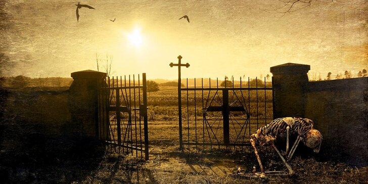 Úniková hra Hřbitov: 66 minut hry pro 1–2 nebo 3–4 hráče
