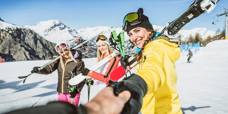 Předvánoční lyžování v italském středisku Livigno: doprava i možnost nákupu v bezcelní zóně