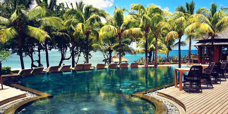 Exotický 4* hotel na Mauriciu: 6–12 nocí, all inclusive, 2 bazény, přímo u pláže