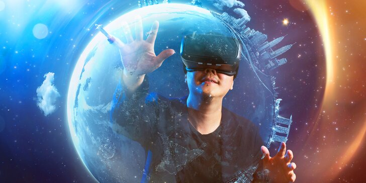 Virtuální realita pro 1 či 2 osoby: 60 min. na HTC Vive Pro s výběrem her vč. oblíbené pařby Beat Saber