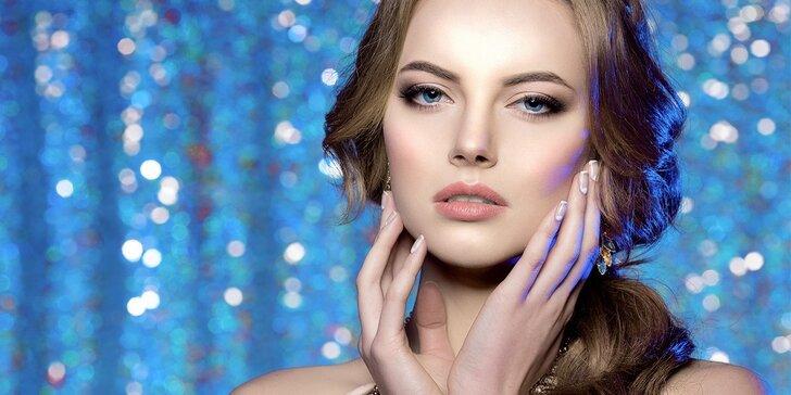 Balíčky péče jako pro princeznu: kosmetika, líčení i střih s možností barvení