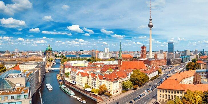 4–6 dní kousek od centra Berlína: hotel s tradicí od roku 1892, snídaně a památky