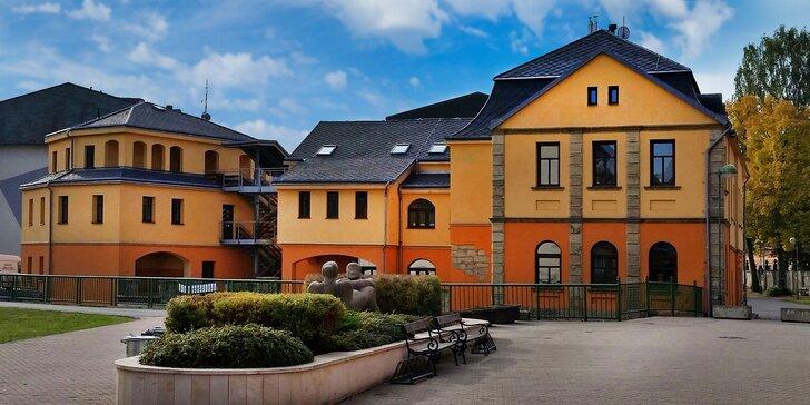 Na výlety i za odpočinkem do Adršpachu: polopenze a privátní wellness