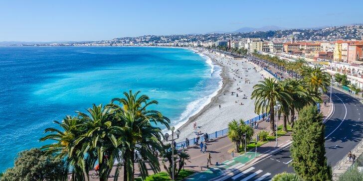 Poznávací zájezd za krásami Francouzské riviéry: Nice, St. Tropéz i Monako