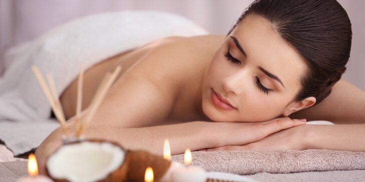 Odpočinek v Royal Jasmine Spa díky hodinové masáži podle výběru
