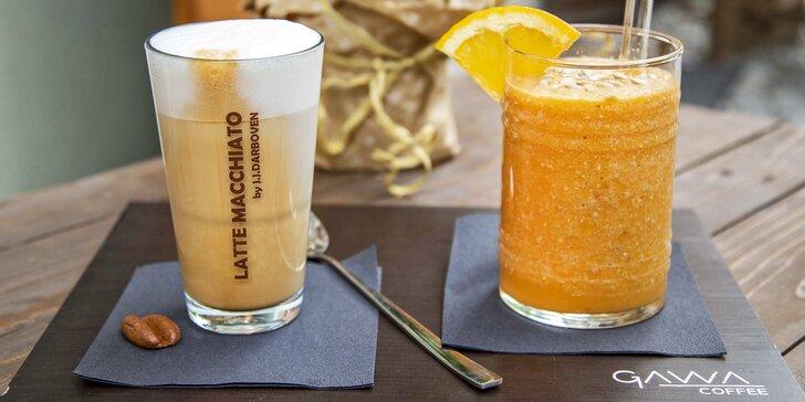 Přivítejte podzim: smoothie a káva nebo čaj podle výběru