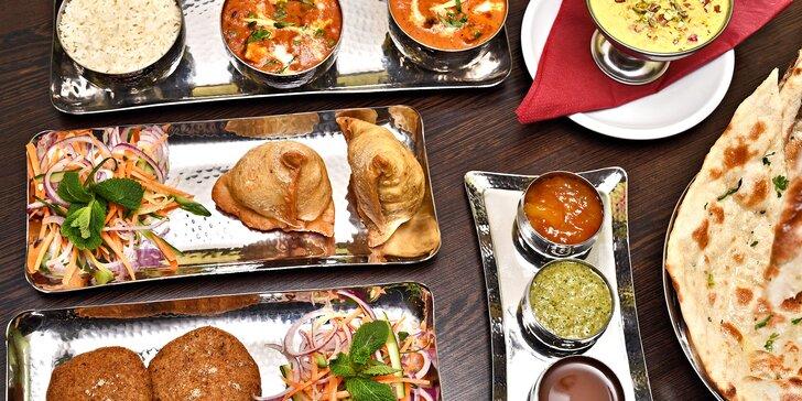 Ochutnejte Indii: otevřený voucher na konzumaci v hodnotě 500 či 1000 Kč