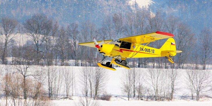Pilotem na zkoušku: 30–60min. kurz ultralehkého létání s teorií i pilotováním